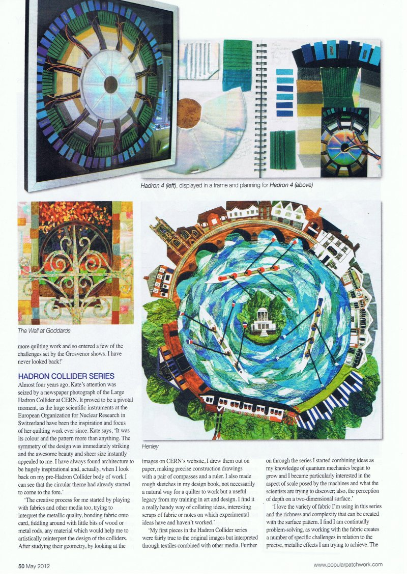 Popular Patchwork magazine May 2012