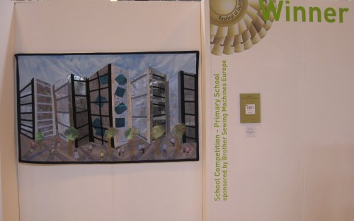 Cityscape at Festival of Quilts