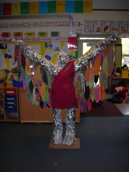 Icarus by Sacred Heart pupils