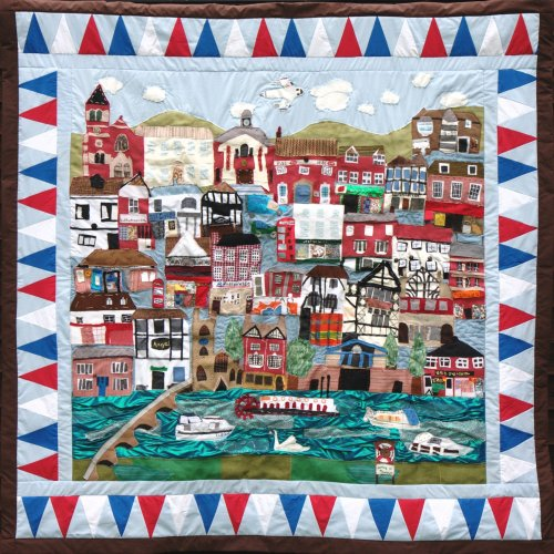 Our Town Quilt by Year 5 St. Marys School
