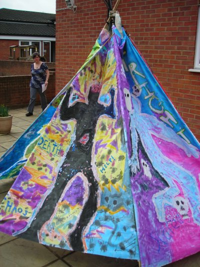 Tent of Emotion by Year 6 St Marys School