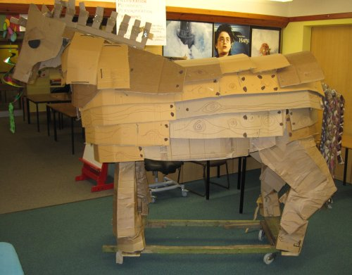Troy the Wooden Horse